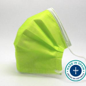 Comprar mascarillas quirúrgicas verdes