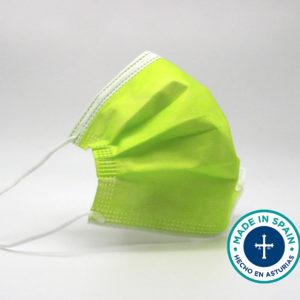 Comprar online mascarillas quirúrgicas verdes